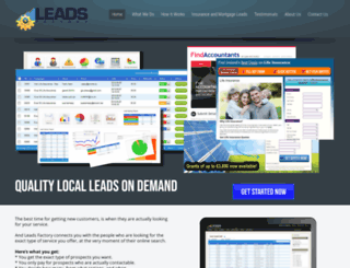 leadsfactory.net screenshot