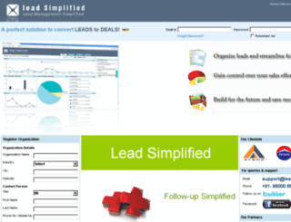leadsimplified.com screenshot