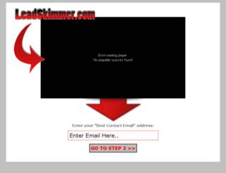 leadskimmer.com screenshot