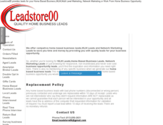 leadstore00.com screenshot