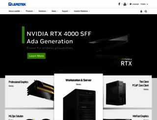 leadtek.com screenshot