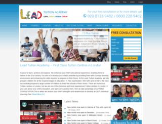 leadtuition.com screenshot
