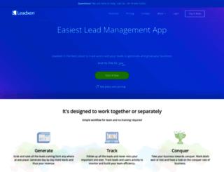 leadxen.com screenshot