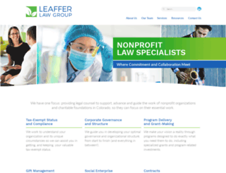 leafferlaw.wpengine.com screenshot