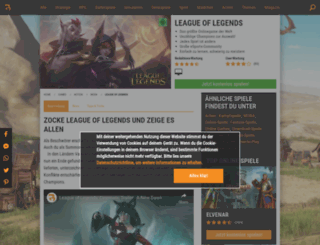 league-of-legends.browsergames.de screenshot