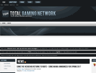 league.totalgamingnetwork.com screenshot