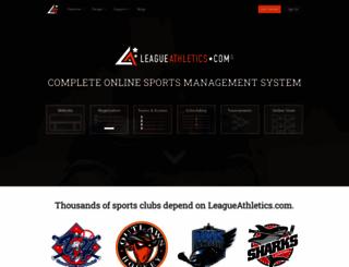 leagueathletics.com screenshot
