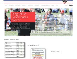 leaguegm.com screenshot