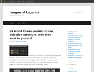 leaguelegendstop10.blog.com screenshot