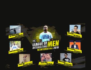 leagueofinterestingmen.com screenshot