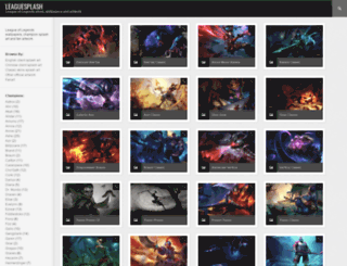 leaguesplash.com screenshot