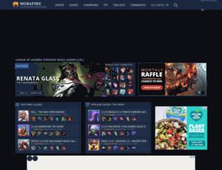 leaguespy.net screenshot