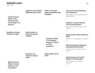 leahyin.com screenshot
