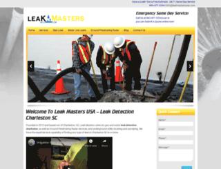 leak-detection-charleston-sc.com screenshot