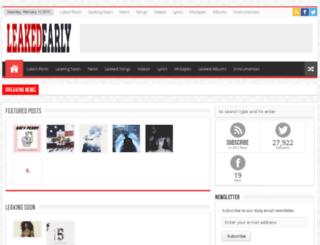 leakedearlyy.net screenshot