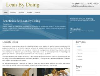 leanbydoing.com.ar screenshot