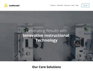 leanforward.com screenshot
