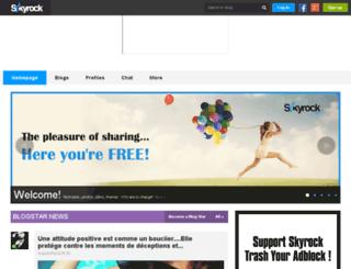 leankor.skyrock.com screenshot