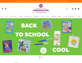 leannalinswonderland.com screenshot