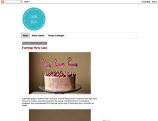 leannebakes.com screenshot