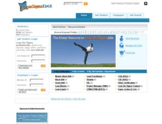 leansigmaedge.com screenshot