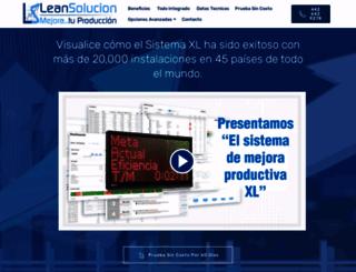 leansolucion.com screenshot