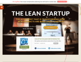 leanstartups.com screenshot