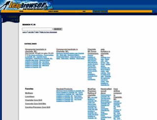 leapbrowser.com screenshot