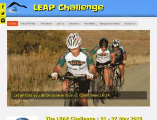 leapchallenge.co.za screenshot