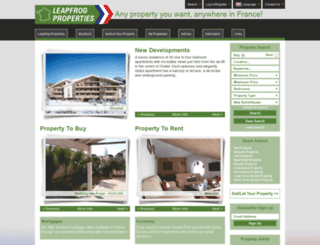 leapfrog-properties.com screenshot