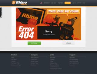leapingbrain.rhinosupport.com screenshot