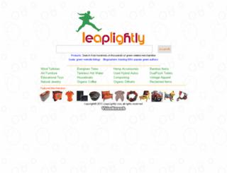 leaplightly.com screenshot