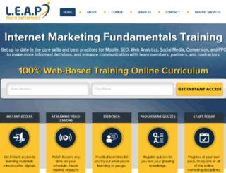 leapprofitenterprises.com screenshot