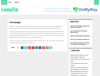 leapzipblog.com screenshot