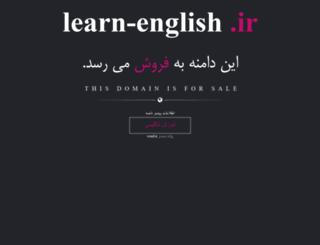 learn-english.ir screenshot