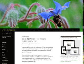 learn-how-to-garden.com screenshot