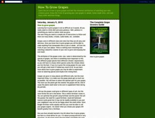 learn-how-to-grow-grapes.blogspot.com screenshot