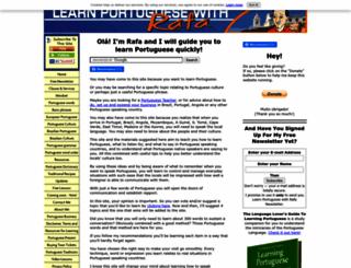 learn-portuguese-with-rafa.com screenshot