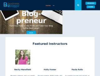 learn.business2blogger.com screenshot