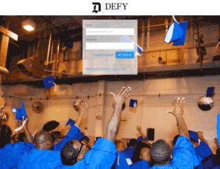 learn.defyventures.org screenshot