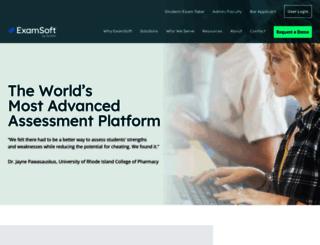 learn.examsoft.com screenshot