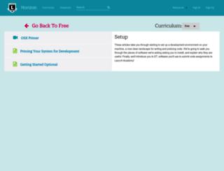 learn.launchacademy.com screenshot