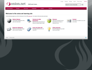 learn.onion.net screenshot