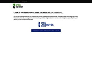 learn.open2study.com screenshot