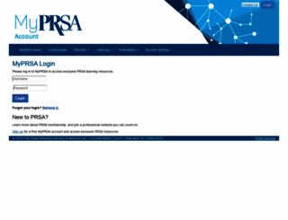 learn.prsa.org screenshot