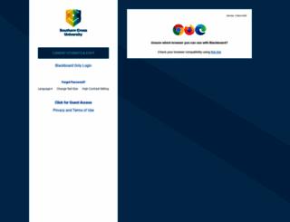learn.scu.edu.au screenshot