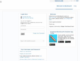 learn.vccs.edu screenshot