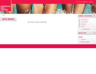 learn.waxcenter.com screenshot