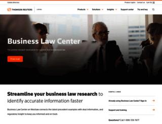 learn.westlawbusiness.com screenshot