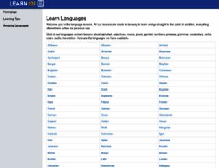 learn101.org screenshot